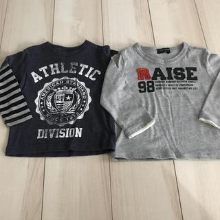 コムサイズム(COMME CA ISM)のTシャツ 男の子 80 2枚セット(Tシャツ)