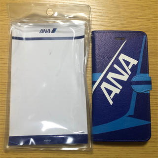 iPhone - 新品未使用 ✈️ iPhone8plus ANA手帳型ケース✈️