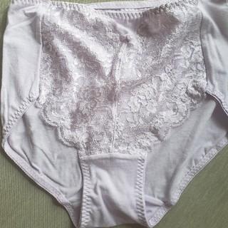 新品🌼大きめ ゆったり レディース 薄紫 ショーツ LLサイズ  可愛い花柄