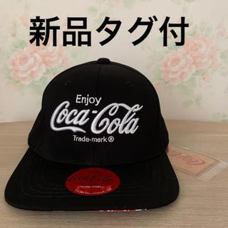 コカコーラ(コカ・コーラ)のCoca-Cola コカコーラ ロゴ キャップ ブラック(キャップ)