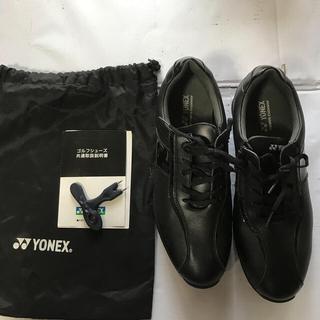 ヨネックス(YONEX)のYONEX ゴルフ シユーズ 黒 27.5cm(シューズ)