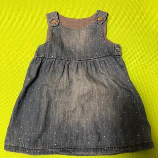 エイチアンドエム(H&M)のH&M ジャンパースカート 80(ワンピース)