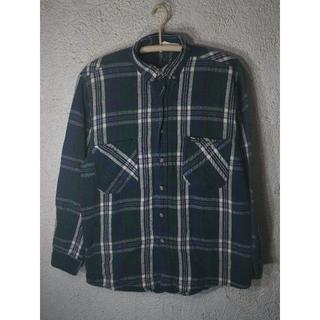 オシュコシュ(OshKosh)の7131 レア OSH KOSH  90s ビンテージ 長袖 ネルシャツ(シャツ)