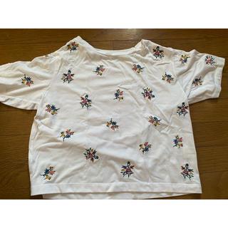 アバンリリー(Avan Lily)の花柄 Tシャツ(Tシャツ(半袖/袖なし))