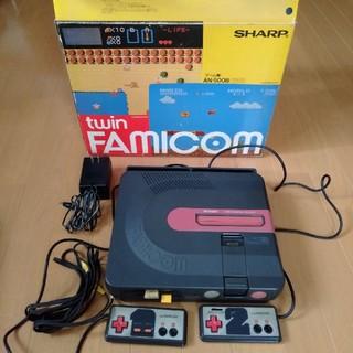 シャープ(SHARP)のツインファミコン AN-500B(家庭用ゲーム機本体)