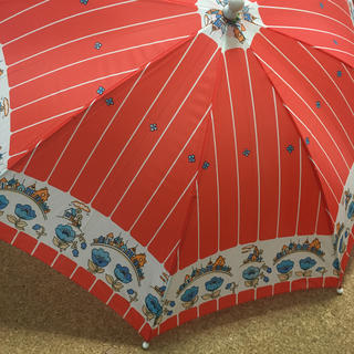 レトロ 雨傘 デトックス 未使用(傘)