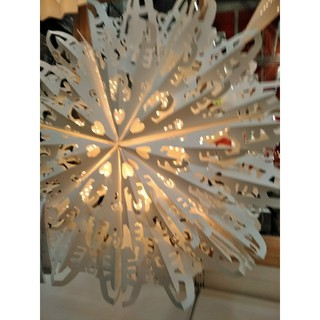 イケア(IKEA)のIKEAクリスマスデコレーションオーナメント2020 ストローラ 雪の結晶(その他)