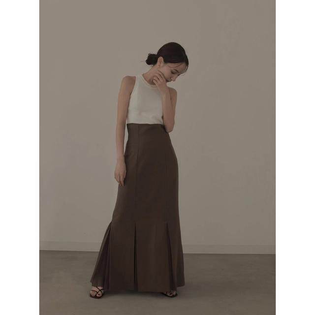 IENA(イエナ)のlouren mermaid pleats skirt レディースのスカート(ロングスカート)の商品写真