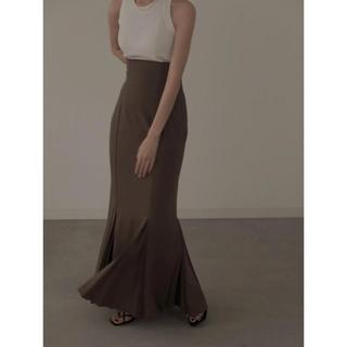 IENA - louren mermaid pleats skirt