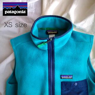 パタゴニア(patagonia)のパタゴニア シンチラ フリース ベスト XS レトロx ボア レトロパイル(ベスト)