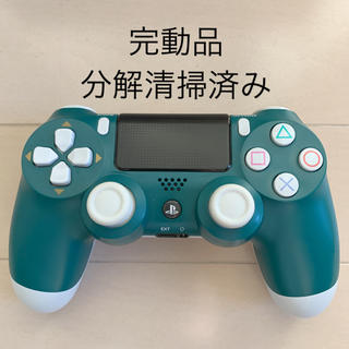 PlayStation4 - 完動品 SONY PS4 純正 コントローラー DUALSHOCK4 グリーン