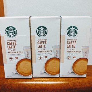 Starbucks Coffee - 新品 スターバックスコーヒー プレミアムミックス カフェラテ