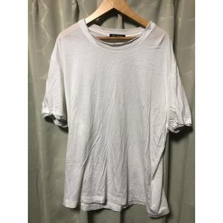 イッセイミヤケ(ISSEY MIYAKE)のVintage 古着 ISSEY MIYAKE イッセイミヤケ 半袖 白Tシャツ(Tシャツ/カットソー(半袖/袖なし))