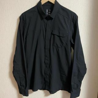 アークテリクス(ARC'TERYX)の ARCTERYX アークテリクス スカイラインシャツ  ブラック M(シャツ)