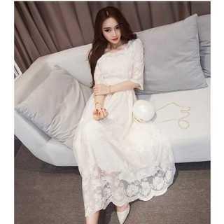 ホワイト ドレス 白 結婚式ワンピース パーティードレス レディース(ロングワンピース/マキシワンピース)