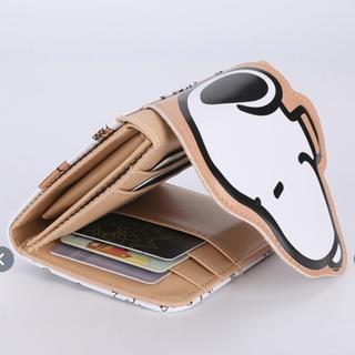 スヌーピー(SNOOPY)の【今だけおまけ付‼️】スヌーピー 三つ折り財布(財布)