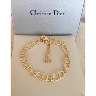 Christian Dior - 【未使用 】クリスチャン ディオール CDロゴブレスレット/ゴルード/R88