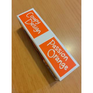サクラクレパス(サクラクレパス)のクーピー柄マット口紅 02 パッションオレンジ(口紅)