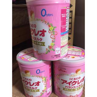 グリコ - 粉ミルク アイクレオ  800g10缶