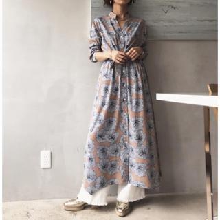 Ameri VINTAGE - Ameri vintage★ TIE SHIRT DRESS