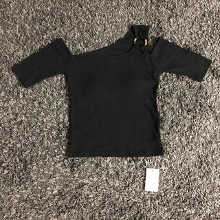 ムルーア(MURUA)のmurua 黒 トップス(Tシャツ(長袖/七分))