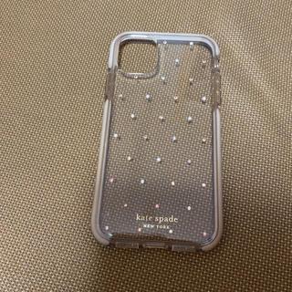 ケイトスペードニューヨーク(kate spade new york)のkatespade ケイトスペード iphone11 ケース キラキラ(iPhoneケース)