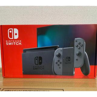 ニンテンドースイッチ(Nintendo Switch)の新品未開封 Nintendo Switch 本体 グレー 新型(家庭用ゲーム機本体)