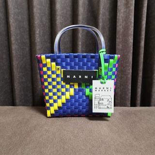 【即納未使用】MARNI LOGO ピクニックバッグ/ブルートライアングル