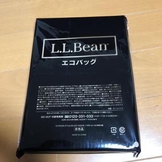 L.L.Bean - GO OUT 付録 L.L BEAN エコバッグ