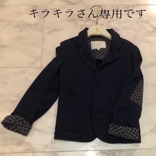 グッチ(Gucci)の美品⭐︎グッチ チルドレン ジャケット ネイビー gg 男の子 キッズ 子供 (ジャケット/上着)