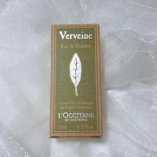 ロクシタン(L'OCCITANE)の【新品未開封】ロクシタン 香水 ヴァーベナ 10ml オードトワレ(香水(女性用))