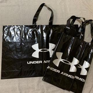 アンダーアーマー(UNDER ARMOUR)の中古 アンダーアーマー  ショップ袋 ビニール3枚セット(ショップ袋)