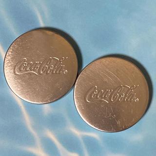 コカコーラ(コカ・コーラ)のコカコーラ 非売品 ロゴ入りペーパーウェイト 2個(ノベルティグッズ)