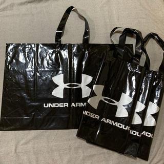 アンダーアーマー(UNDER ARMOUR)の中古 アンダーアーマー  ショップ袋 4枚セット(エコバッグ)