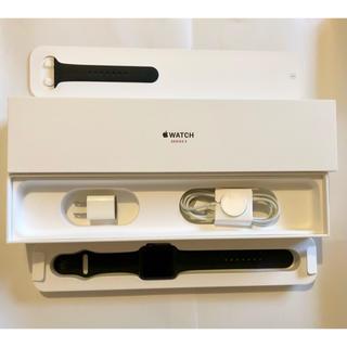 アップルウォッチ(Apple Watch)の超美品 Apple Watch Series3 セルラー 16GB 42mm(腕時計(デジタル))
