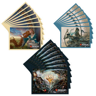 マジックザギャザリング(マジック:ザ・ギャザリング)のMTG☆[新品]エルドレインの王権 ボックス購入特典 スリーブ3セット(カードサプライ/アクセサリ)