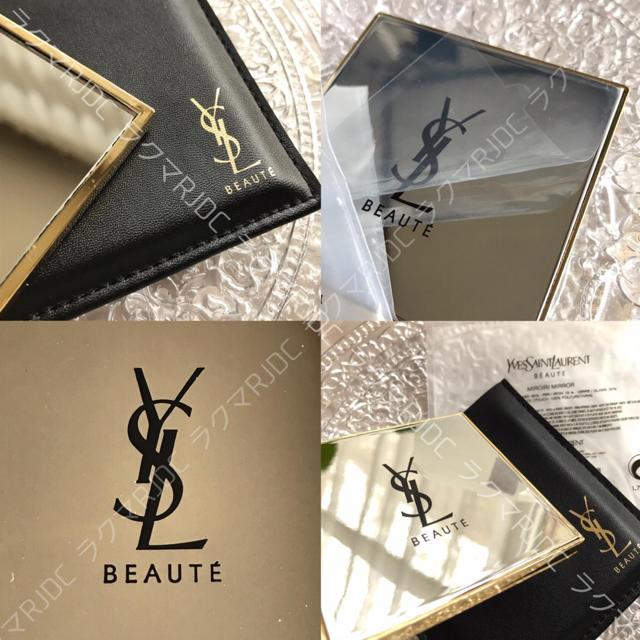 Yves Saint Laurent Beaute(イヴサンローランボーテ)の【新品未開封】限定非売品 イヴサンローラン ミラー(専用ケース付) レディースのファッション小物(ミラー)の商品写真