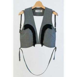 トーガ(TOGA)のkishidamiki harness (type03) grey(ベスト/ジレ)
