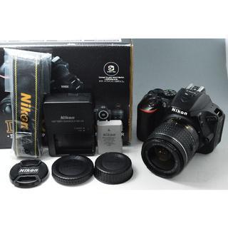 #2788 【美品】ニコン D5600 レンズキット 18-55mm ブラック