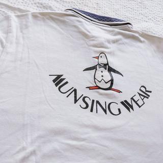 マンシングウェア(Munsingwear)のお値下げ中☆【Munsingwear】シンプルポロシャツ(ポロシャツ)