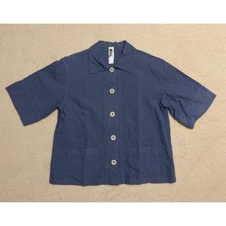 マーガレットハウエル(MARGARET HOWELL)のMHL シャツ ブラウス(シャツ/ブラウス(半袖/袖なし))