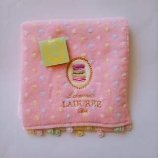 ラデュレ(LADUREE)の【新品未使用】LADUREE ラデュレ タオルハンカチ(ハンカチ)