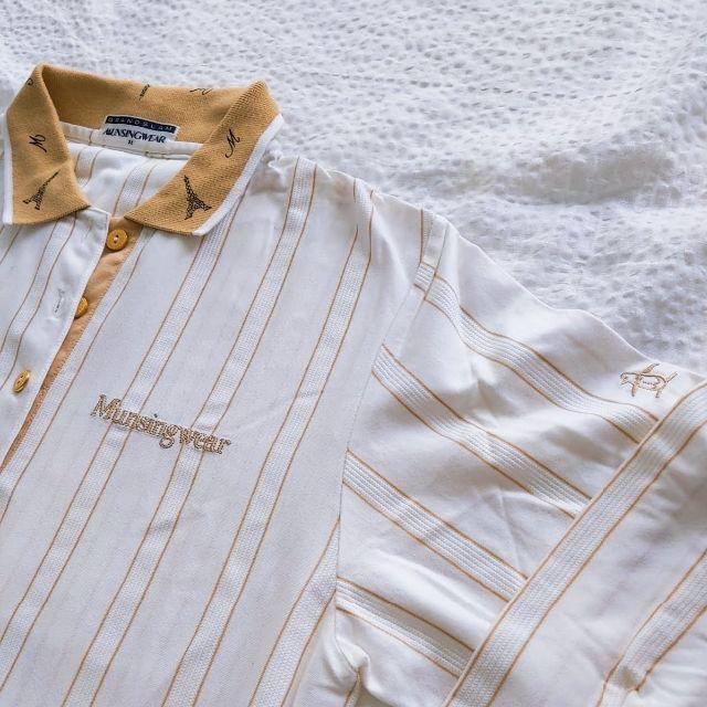 Munsingwear(マンシングウェア)の【Munsingwear】シンプルポロ/長袖 レディースのトップス(ポロシャツ)の商品写真