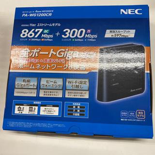 NEC - NEC☆新品 無線ルーター PA-WG1200CR