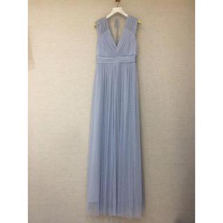 ビーシービージーマックスアズリア(BCBGMAXAZRIA)の❤️BCBG 2020新作 新品 ブルーワンピース ロングドレス 綺麗(ロングドレス)
