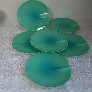 ニッコー(NIKKO)のニッコー南繁正16㎝睡蓮皿6枚(食器)