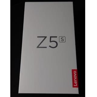 レノボ(Lenovo)のLenovo z5s 6GB 128GB Snapdragon710 新品未使用(スマートフォン本体)