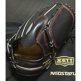 ZETT - ZETT ゼット ネオステイタス 軟式 投手用グローブ