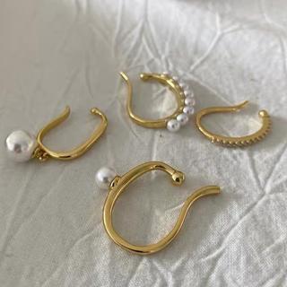 イエナ(IENA)のPearl earcuff 4set No.404(イヤーカフ)