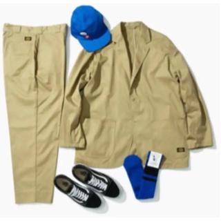 ディッキーズ(Dickies)のBEAMS TRIPSTER Dickies スーツ セットアップ ベージュ(セットアップ)
